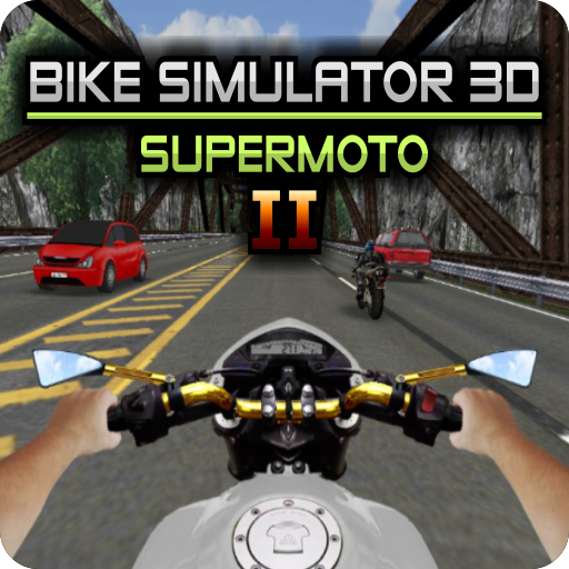 Bike Simulator 2 Moto Race Game 16 (Mod)