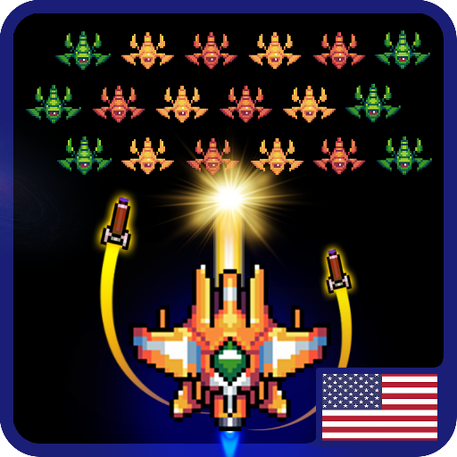 Galaxiga Classic Arcade Shooter 80s – Free Games  22.02 (Mod)