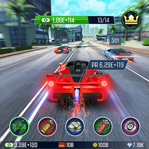 Idle Racing GO: Clicker Tycoon & Tap Race Manager 1.26.7 (Mod)