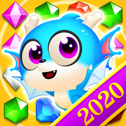 Jewel Blast Dragon Match 3 Puzzle  (Mod) 1.22.5