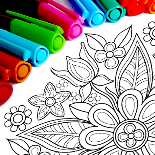 Mandala Coloring Pages  (Mod) 15.9.4