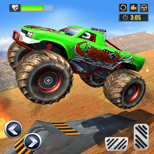Monster Truck Derby Crash: Demolition Derby Stunts 2.5 (Mod)