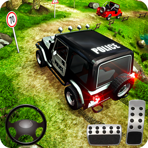 Offroad Police Jeep 4×4 Driving & Racing Simulator 1.7.7 (Mod)