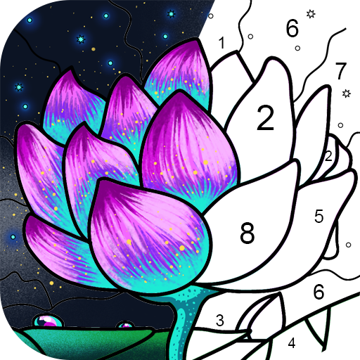 Paint By Number Coloring Book & Color by Number  2.47.0 (Mod)
