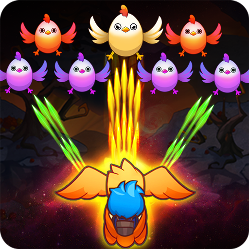 Poultry Shoot Blast: Free Space Shooter game.shooting.chicken.shoot.blaster.alien.invaders.shooter(Mod)