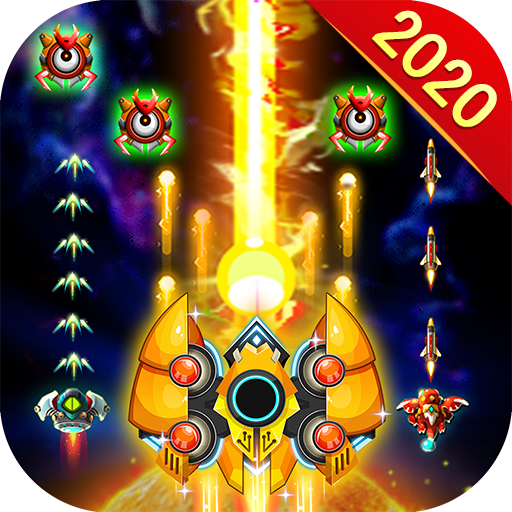 Space Hunter Galaxy Attack Arcade Shooting Game  (Mod) 1.9.9