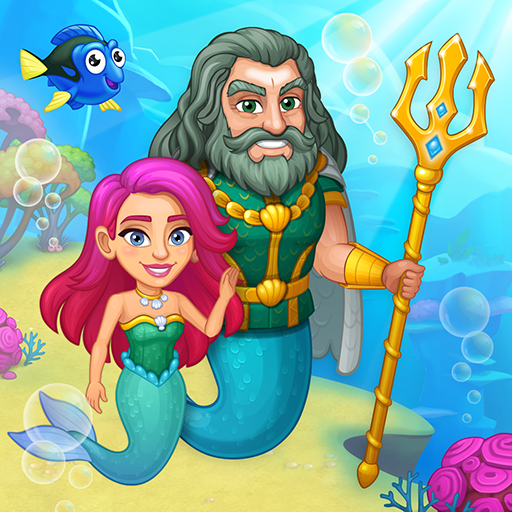 Aquarium Farm: fish town, Mermaid love story shark 1.33  (Mod)