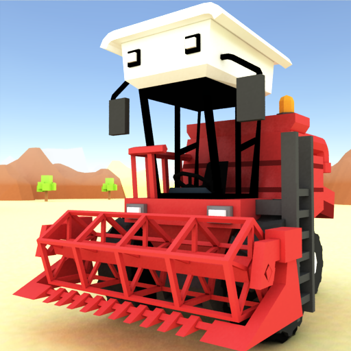 Blocky Farm Racing & Simulator – free driving game 1.33 Mod)