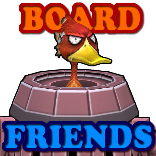 Board Game Friends (2,3,4players) 11Games 20 (Mod)