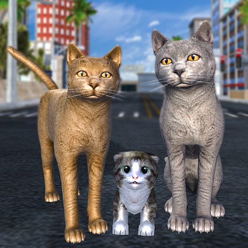 Cat Family Simulator: Stray Cute Kitty Game  10.1 (Mod)