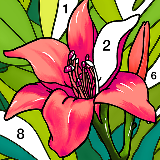 Coloring Book Color by Number & Paint by Number  2.0.3 (Mod)