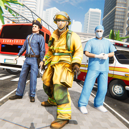 Emergency Rescue Service- Police, Firefighter, Ems 1.2 (Mod)