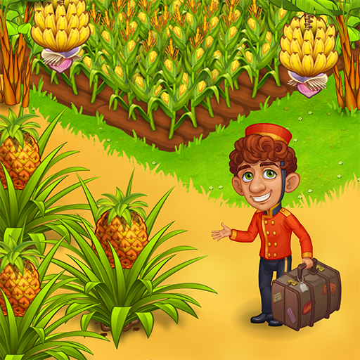 Farm Paradise: Fun farm trade game at lost island 1.78 (Mod)