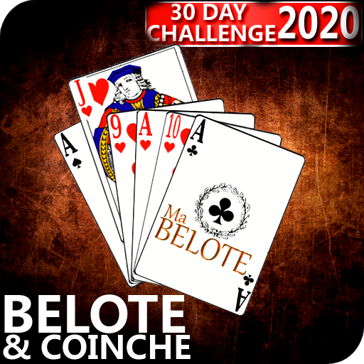 Free French Belote & Coinche – 30 days Challenge 1.15 (Mod)