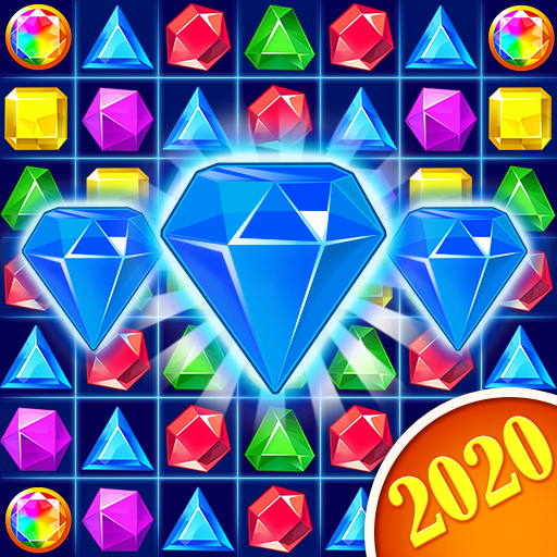 Jewel Crush™ – Jewels & Gems Match 3 Legend  (Mod) 4.4.3