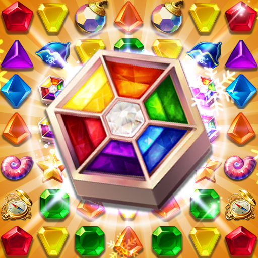 Jewels Fantasy : Quest Temple Match 3 Puzzle 1.8.0 (Mod)
