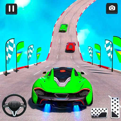 Mega Ramp Car Racing Stunts 3D – Impossible Tracks 1.2.8   (Mod)