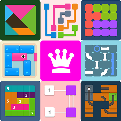Puzzledom – classic puzzles all in one 7.9.96 (Mod)