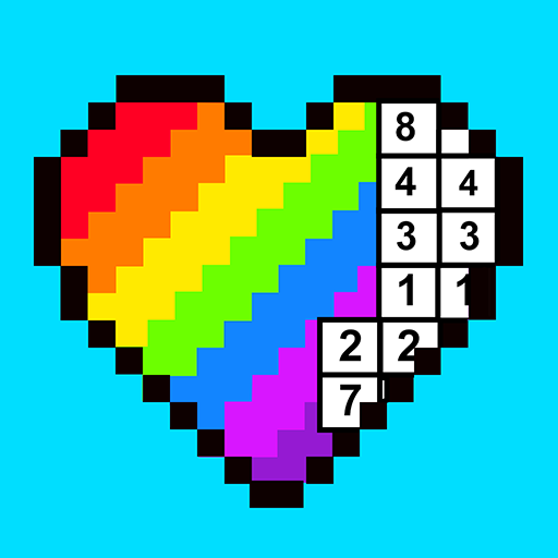 RAINBOW Color by Number – 2D & 3D Pixel Art 1.7.1 (Mod)