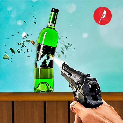 Real Bottle Shooting Free Games| 3D Shooting Games 20.5.1.11  (Mod)