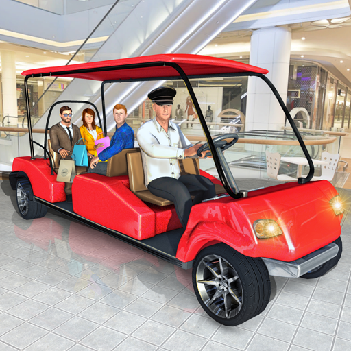 Shopping Mall Smart Taxi: Family Car Taxi Game 1.8 (Mod)