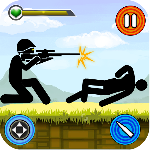 Stickman Shooting: Free offline 2D shooting games 2.54 (Mod)