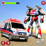Ambulance Robot Transformation-Doctor Robot Rescue 1.0.7 (Mod)