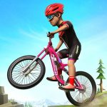BMX Mountain Climb Stunts- Free Bicycle Games 2.1 (Mod)