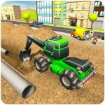 City Pipeline Construction Work : Plumber Game 1.0.3 (Mod)