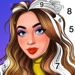 Color By Number, Paint coloring book – Girly Color 1.1.3 (Mod)