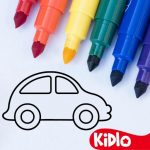 Coloring Games for Kids – Drawing & Color Book 2.4.5 (Mod)