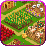 Farm Day Village Farming Offline Games  1.2.45 (Mod)