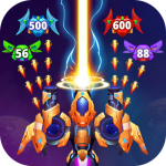 Galaxy Raid: Space shooter 7.1.1 (Mod)