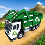Garbage Truck Simulator Offroad Trash Driver Games 2.4 (Mod)