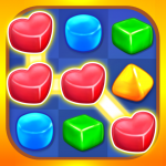 Gummy Paradise Free Match 3 Puzzle Game  (Mod) 1.5.4