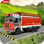Indian Real Cargo Truck Driver 1.52  (Mod)