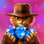 Indy Cat Match 3 Puzzle Adventure  (Mod) 1.85