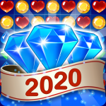 Jewel & Gem Blast – Match 3 Puzzle Game  2.5.9 (Mod)