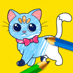 Kids Coloring Book: Drawing & Painting for toddler 2.1  (Mod)