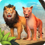 Lion Family Sim Online – Animal Simulator 3.9 (Mod)