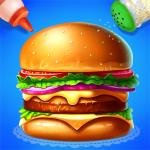 🍔🍔Make Hamburger – Yummy Kitchen Cooking Game 3.6.5026  (Mod)