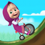 Masha and the Bear: Climb Racing and Car Games 1.2.2 (Mod)