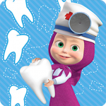 Masha and the Bear: Free Dentist Games for Kids 1.1.1 (Mod)