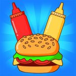 Merge Burger Food Evolution Cooking Merger  (Mod) 2.3.0