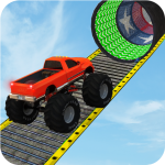 Monster Truck Stunt Race : Impossible Track Games 1.4 (Mod)