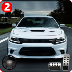 Mustang Dodge Charger: Crazy Car Driving & Stunts 1.4 (Mod)