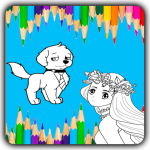 Paint The Sketch – A Coloring Game For Kids 1.4 (Mod)