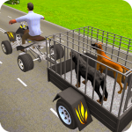 Pet Dog ATV Trolley Cargo Transport 8.1 (Mod)