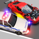 Police Car crash 2019: 3D Cops car chase games 1.0.3 (Mod)