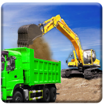 Sand Excavator Truck Driving Rescue Simulator game 5.6.1 (Mod)